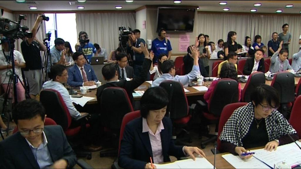 區議會通過要求政府研究取消旺角行人專區