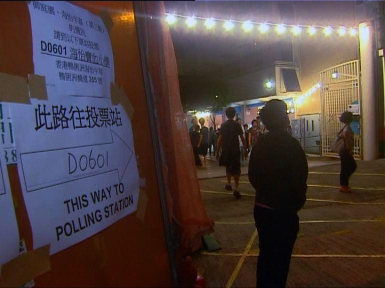 區選投票率高 建制告急泛民不樂觀