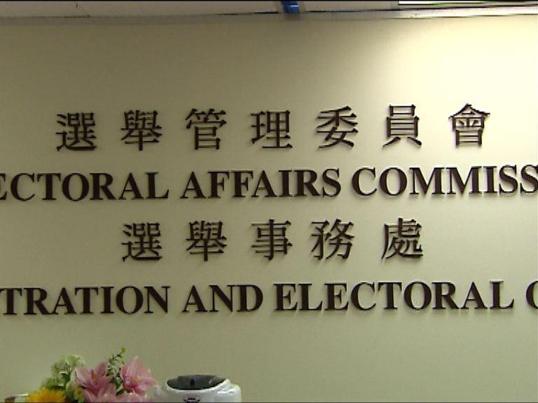 選舉事務處共收951份區選提名表格