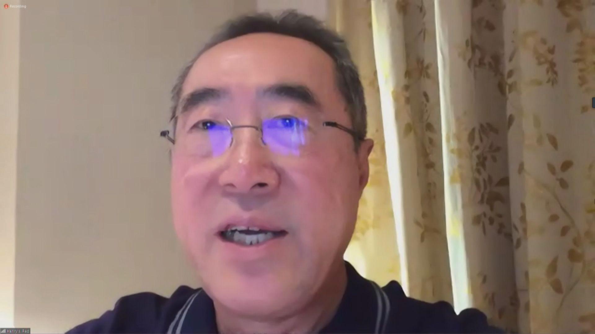 唐英年形容李鵬飛是他加入政壇師傅 讚揚對香港有感情