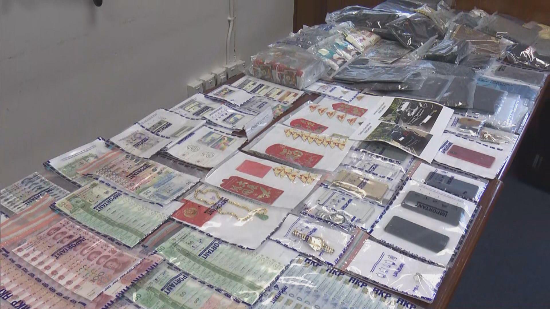 警方瓦解一個祈福黨 拘六人涉騙款120萬