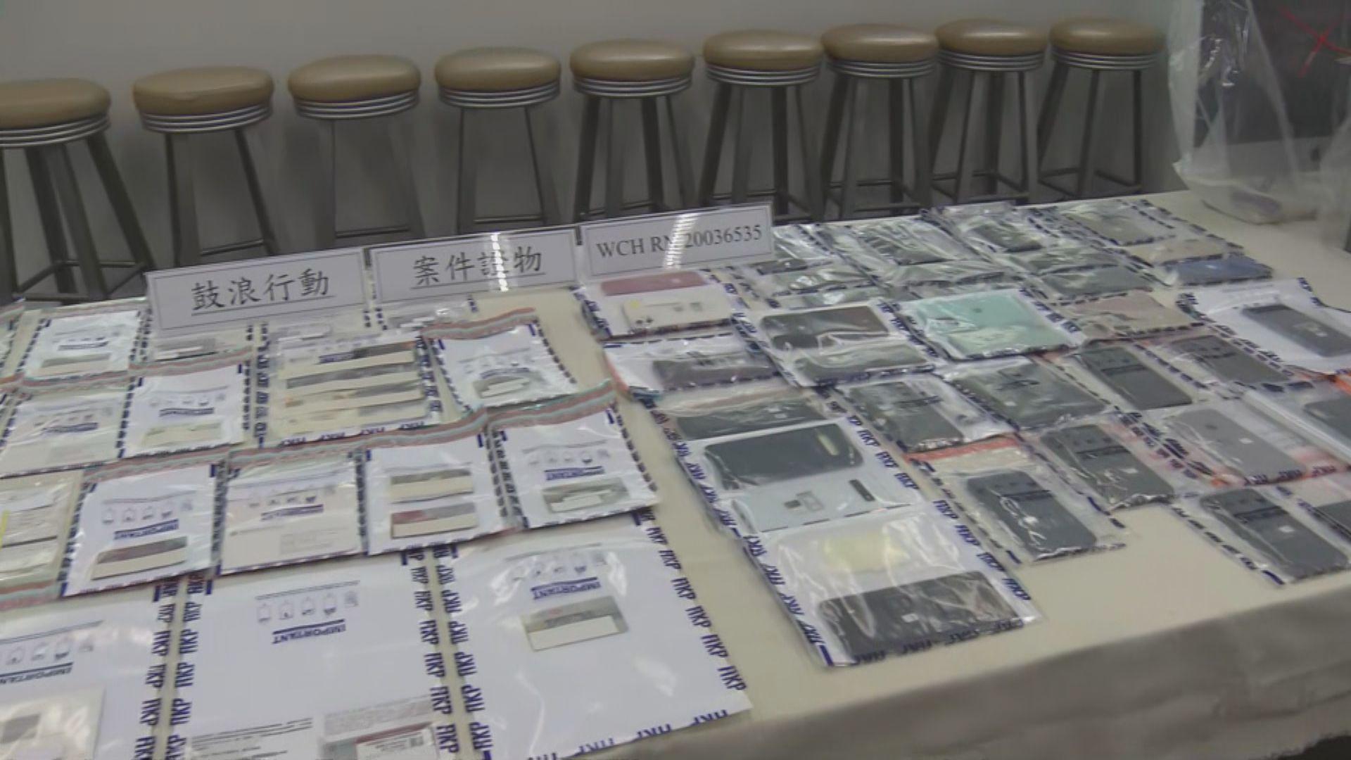 警拘62人涉用假僱傭合約及糧單騙防疫基金284萬元