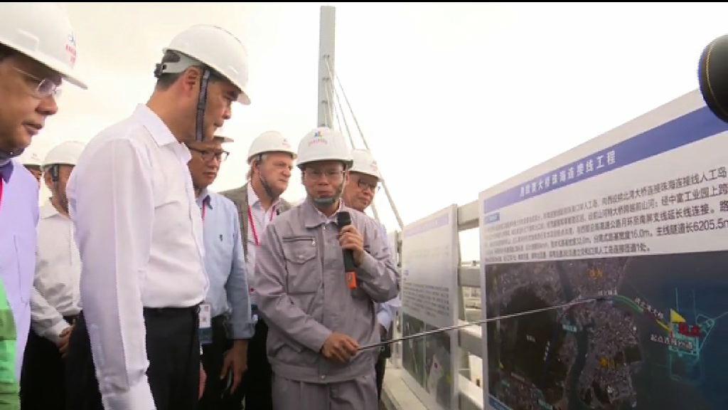 梁振英:香港與廣東西岸合作會更緊密