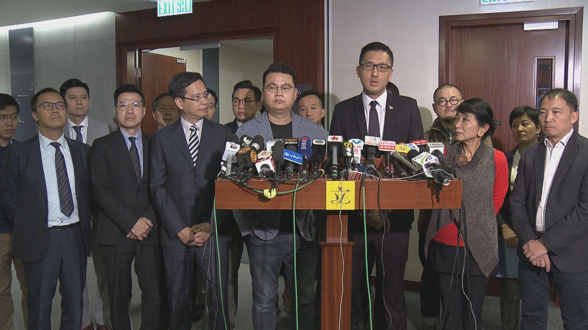 林卓廷尹兆堅遭預約拘捕 表明會全力抗辯
