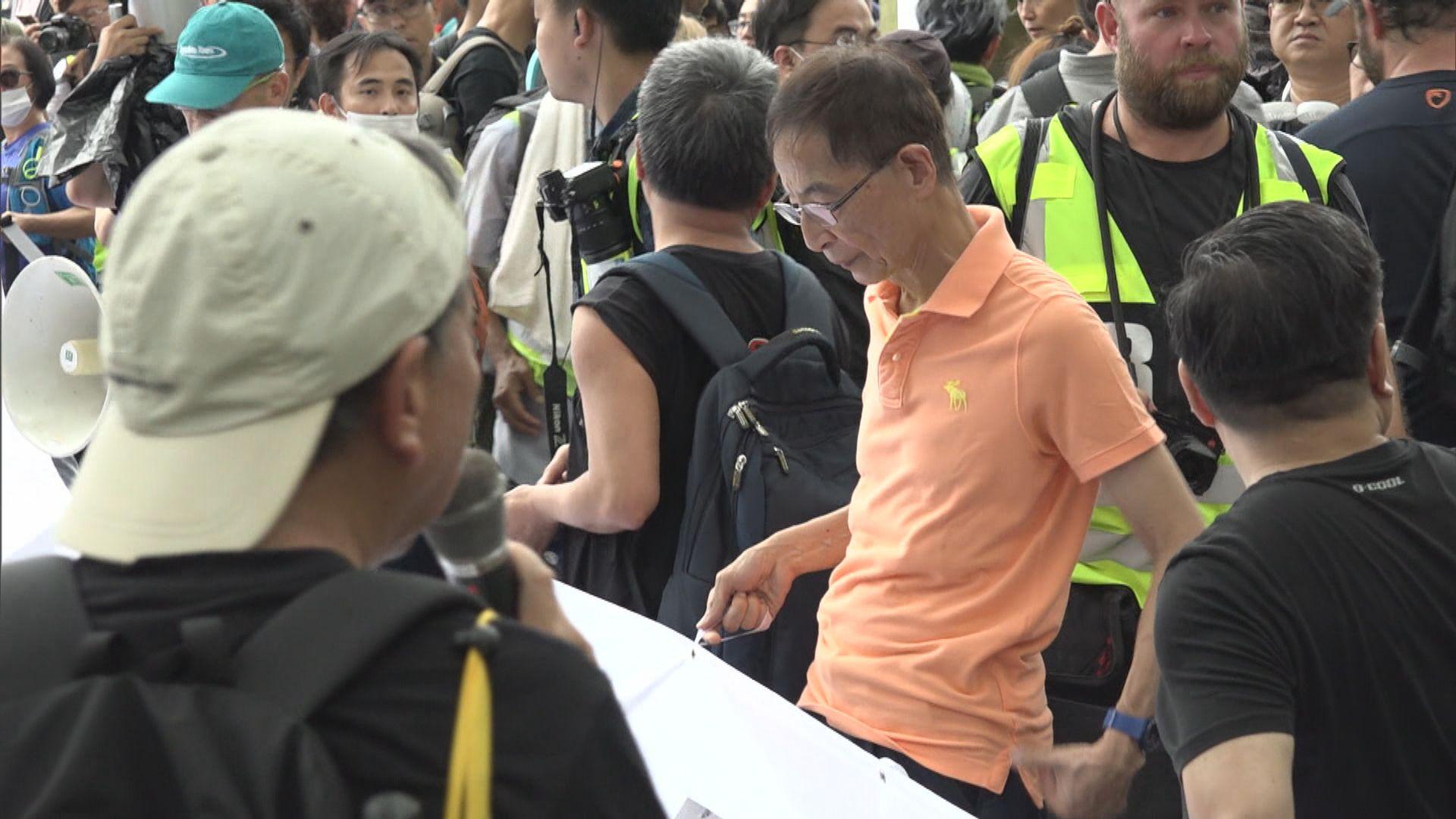 【或陸續有來】至少11人被捕涉去年參與未經批准遊行 包括李柱銘李卓人