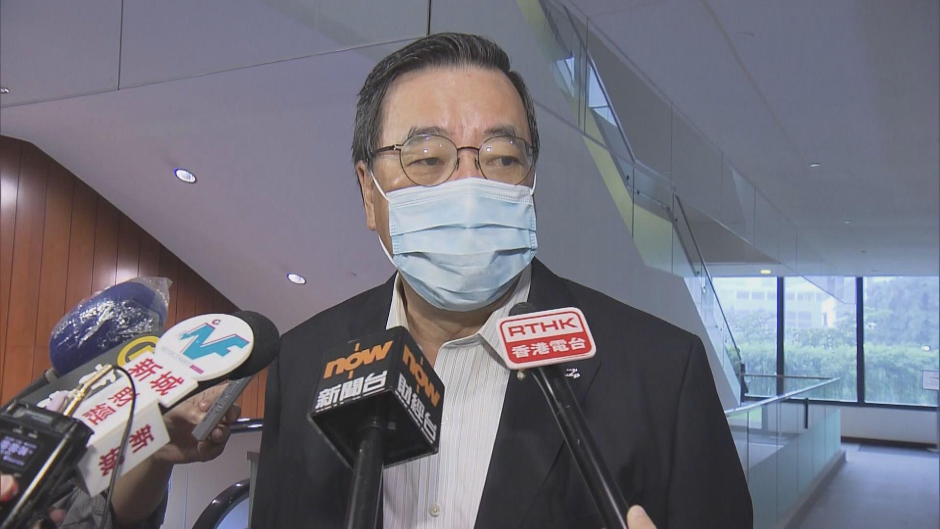 梁君彥:一直有信心民主派議員會留任