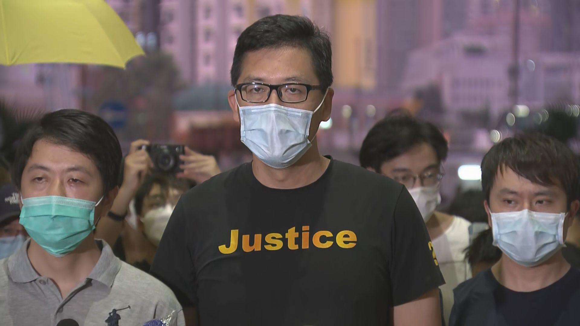 林卓廷指今次檢控屬政治迫害
