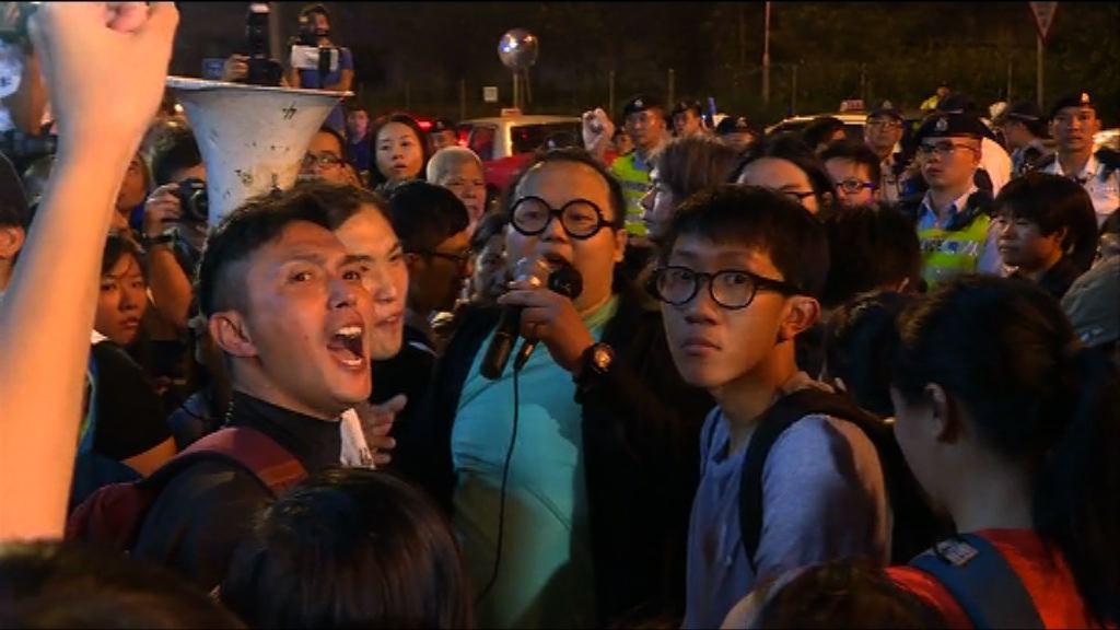 反釋法遊行 警不排除有更多人被捕