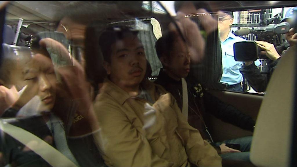 警方拘九人涉中聯辦反釋法遊行