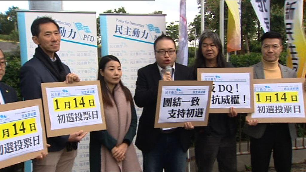 民主派下周日舉行新界東九龍西初選