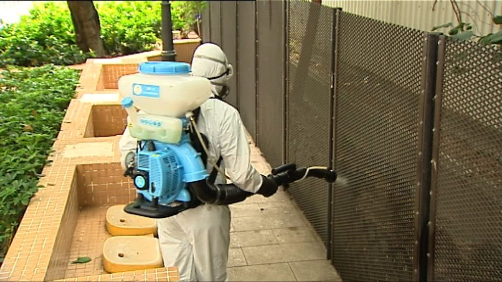 登革熱患者於高鐵地盤工作 食環署派員滅蚊