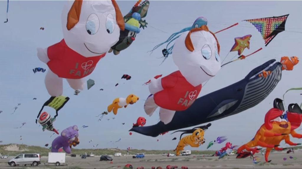 丹麥舉行國際風箏節數千人參加