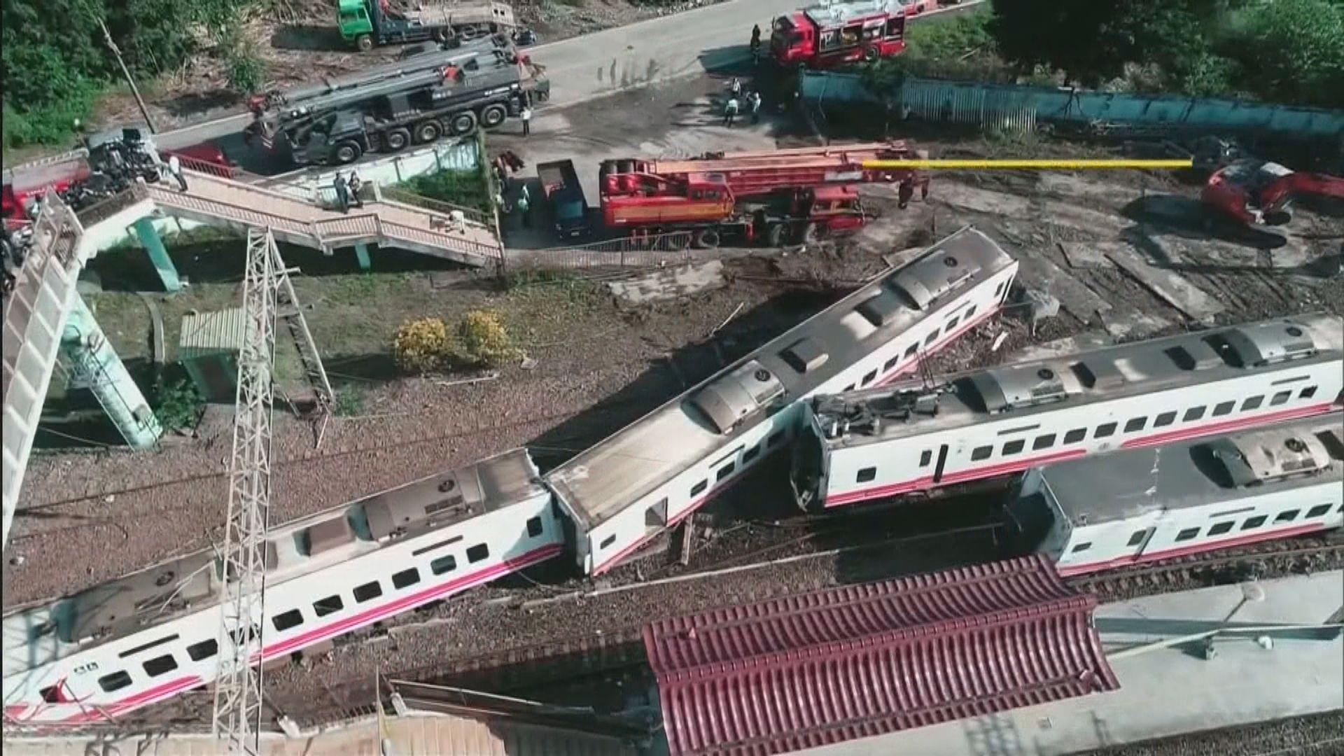 外界關注台鐵列車事故是否涉及人為疏失