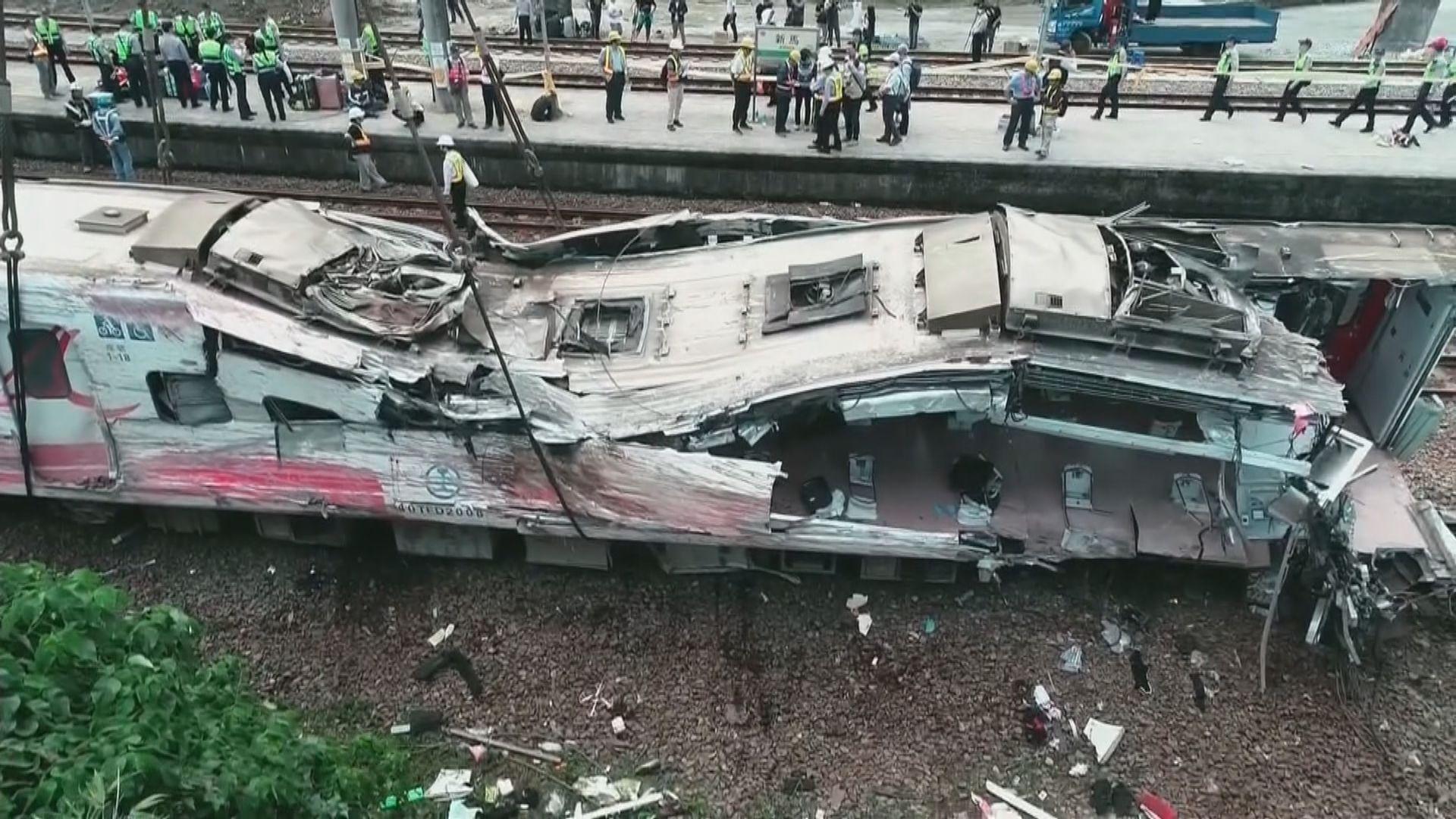 初步調查認為普悠瑪轉彎超速導致事故