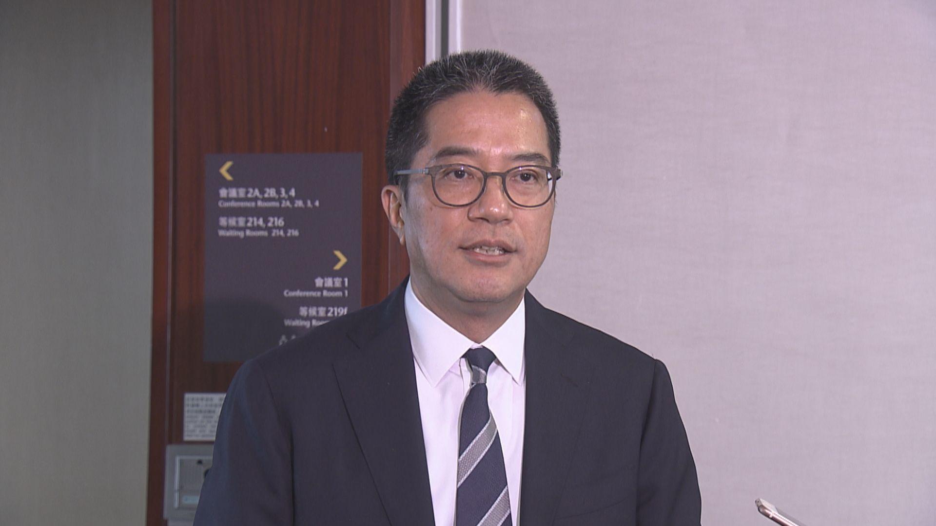 黃偉綸:爭取提前展開新界北研究工程