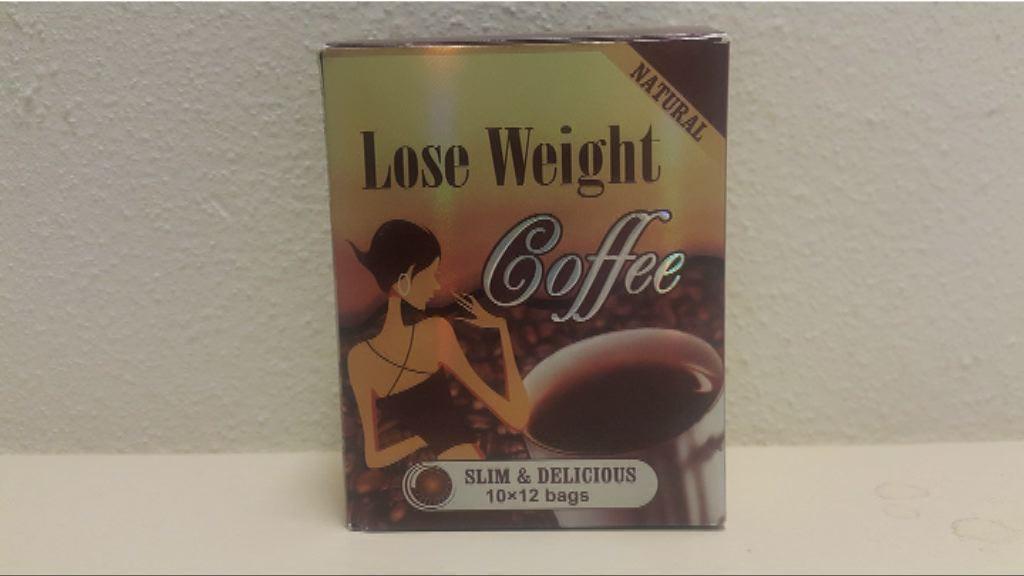 減肥咖啡含禁用西藥