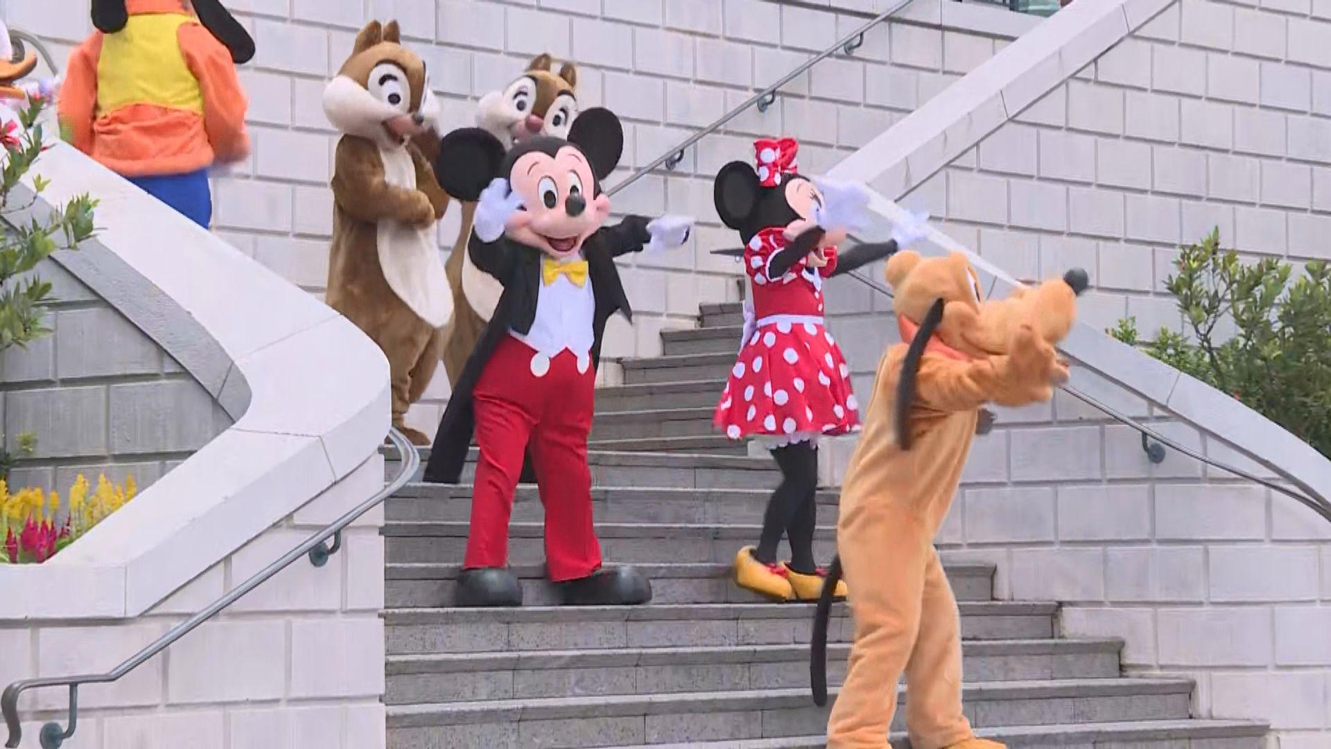 迪士尼樂園重開 取消角色人物與公眾近距離互動環節