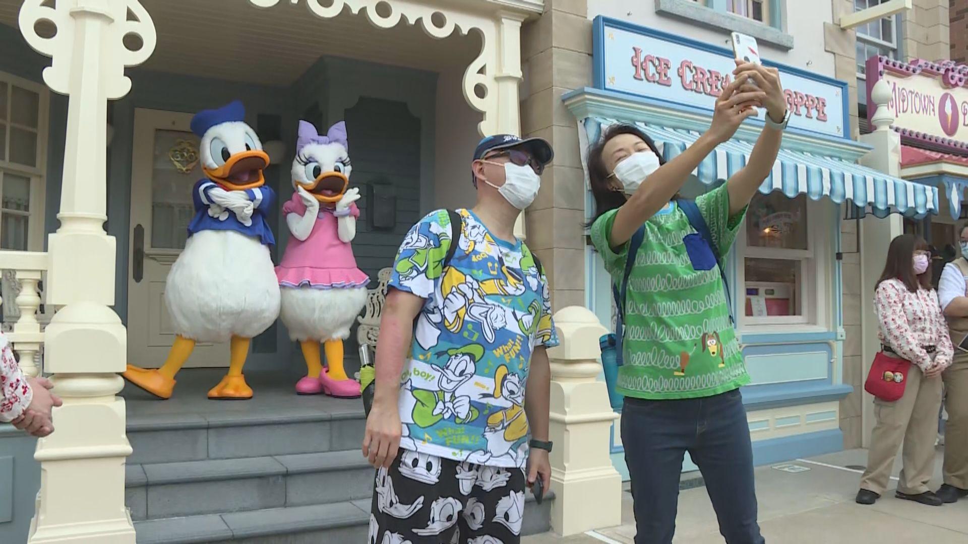 香港迪士尼樂園重開 園內實施一系列防疫措施