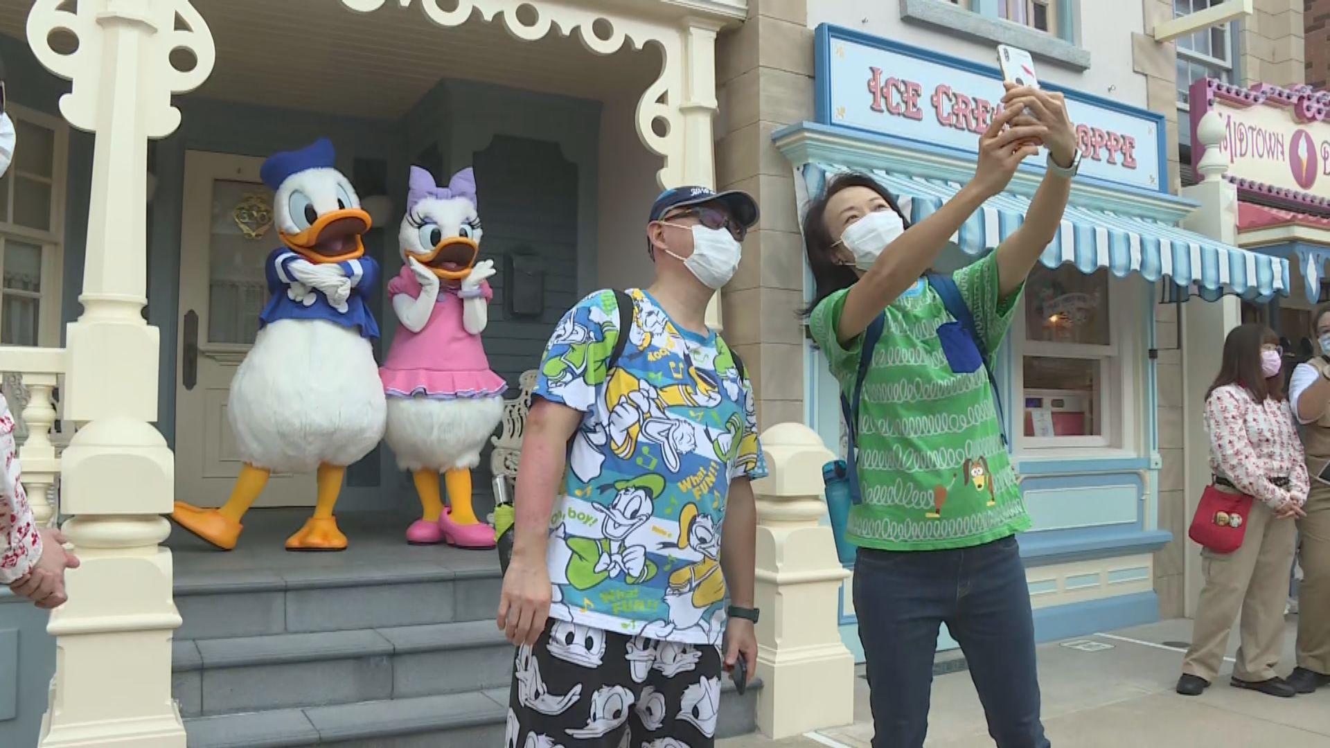 迪士尼樂園重開 園內限制人數及實施防疫措施