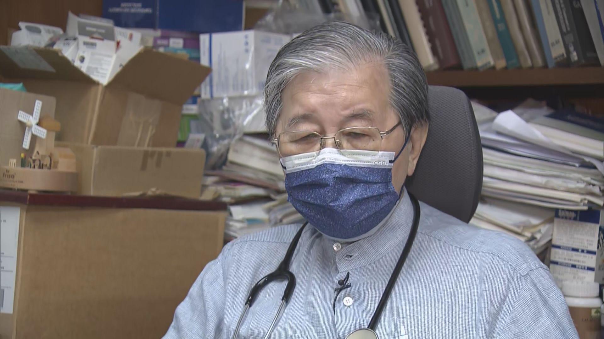 蔡堅:單靠引入海外醫生無助解決公營醫療系統人手短缺