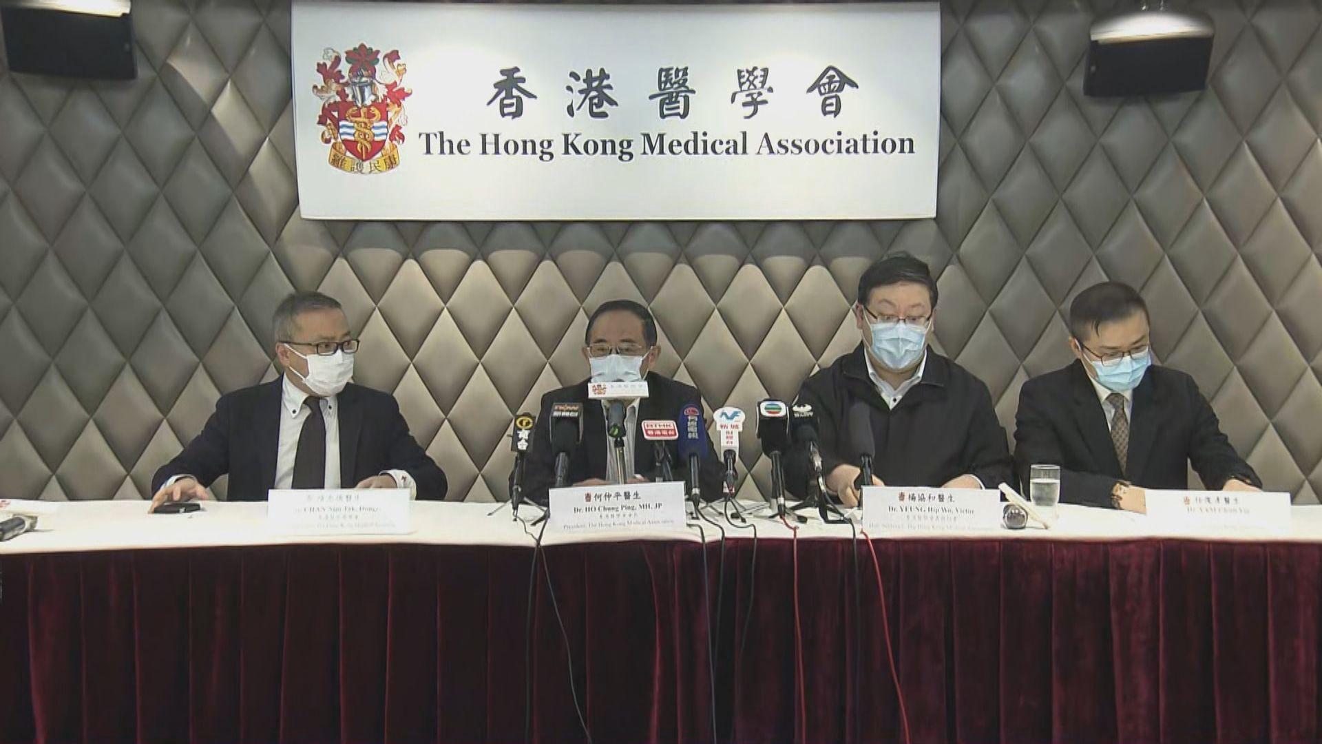 醫學會憂慮更多私家醫生因口罩不足停診