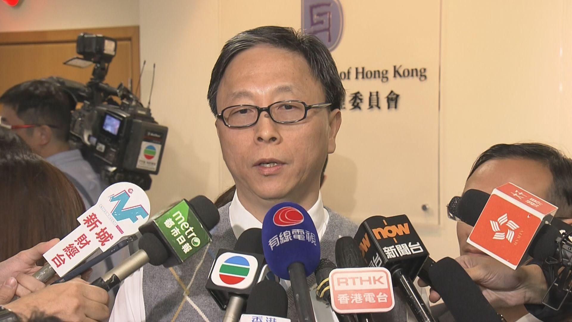 何栢良:會議討論氣氛良好 尊重表決結果