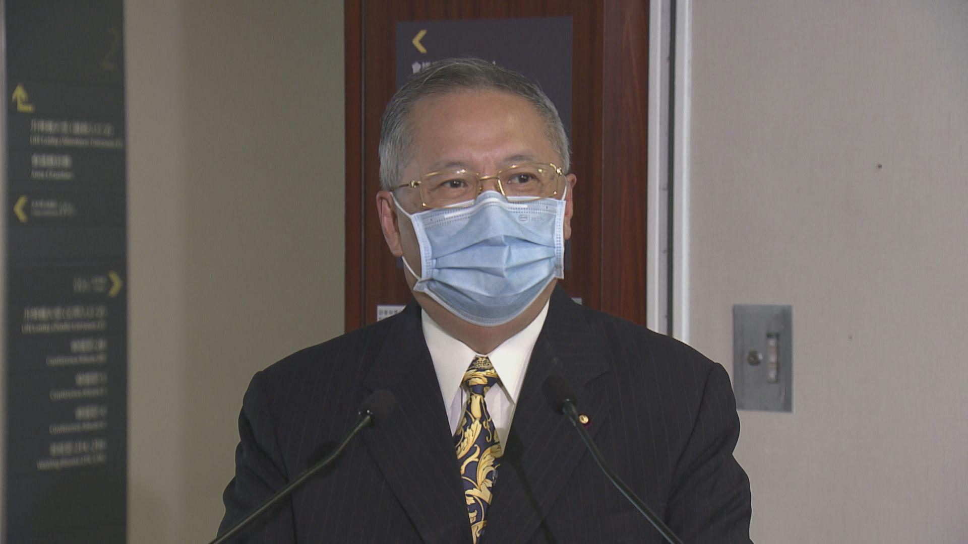 張宇人呼籲本港醫生不要阻撓輸入海外醫生