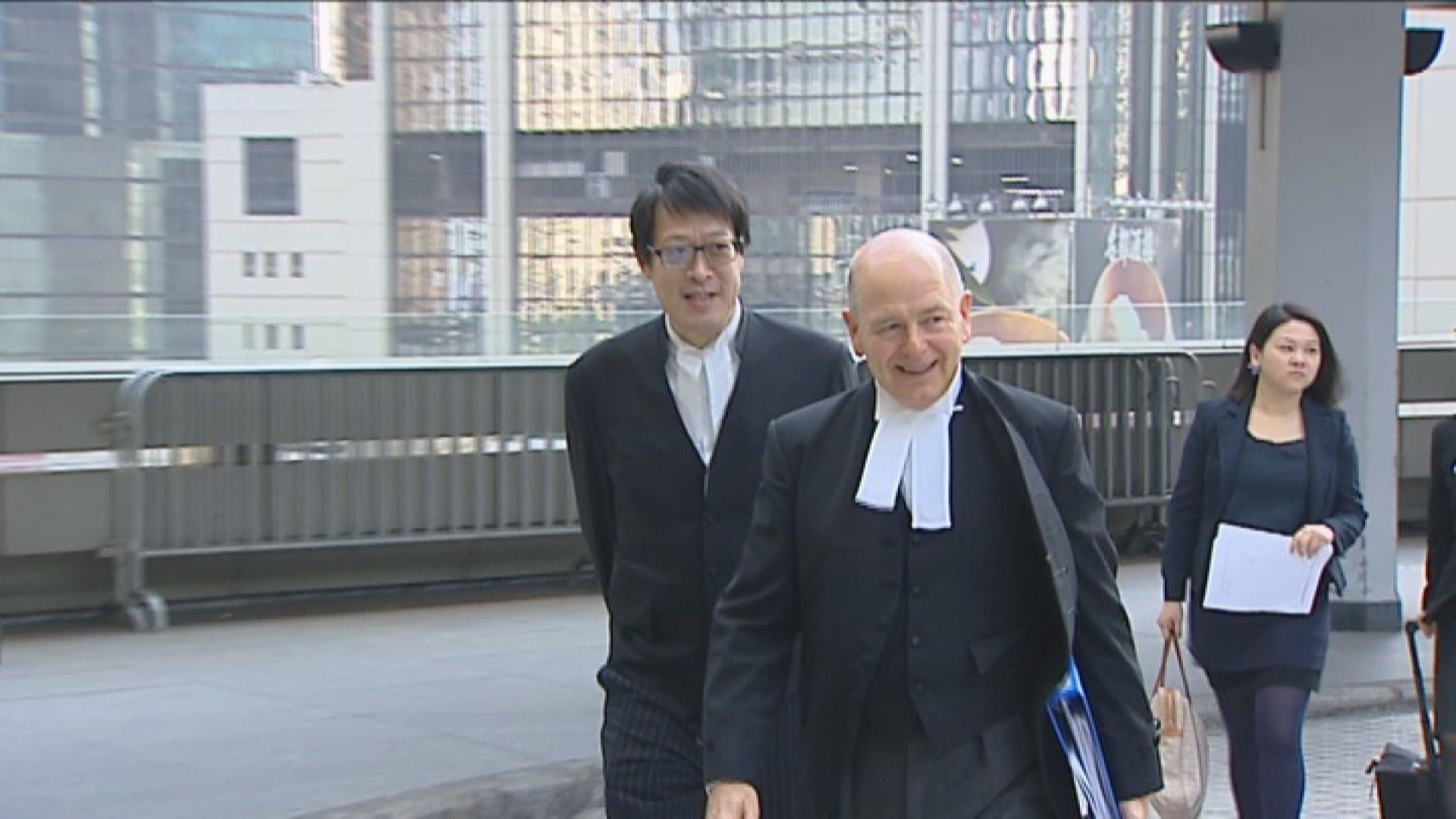 律政司:已委聘新主控處理黎智英等維園非法集結案