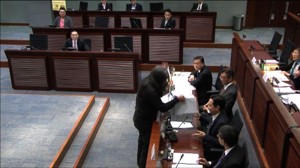 梁國雄搶文件案 律政司提上訴