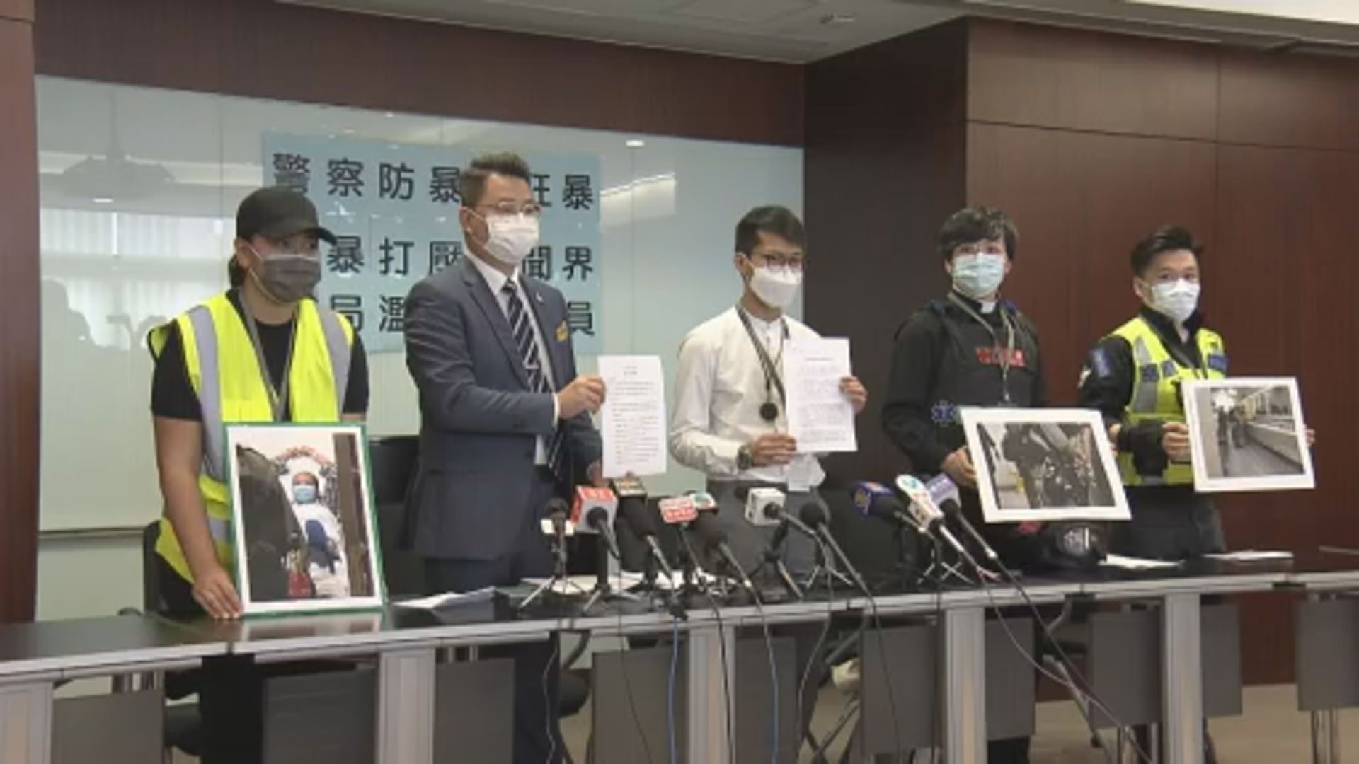 有被捕記者稱遭警方武力對待致一度失去意識