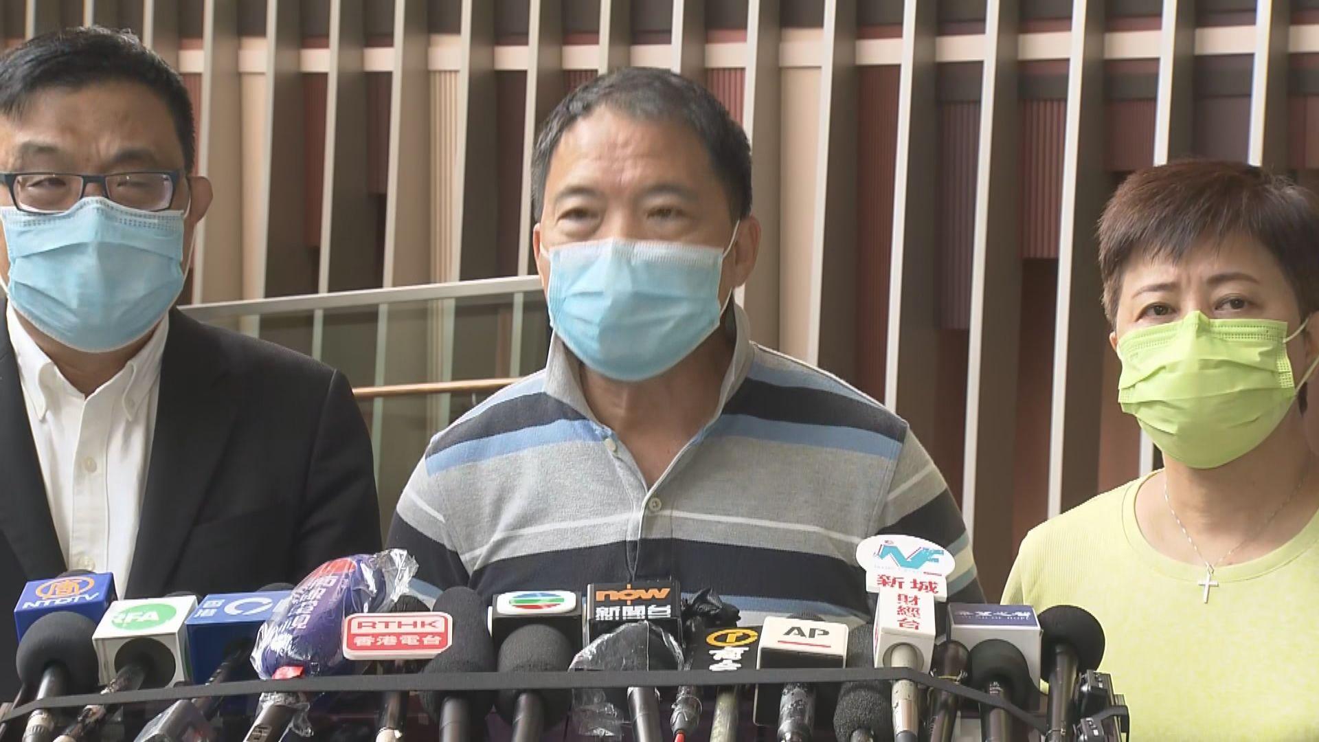 胡志偉:林卓廷在721事件是受害者 警方行動是濫捕