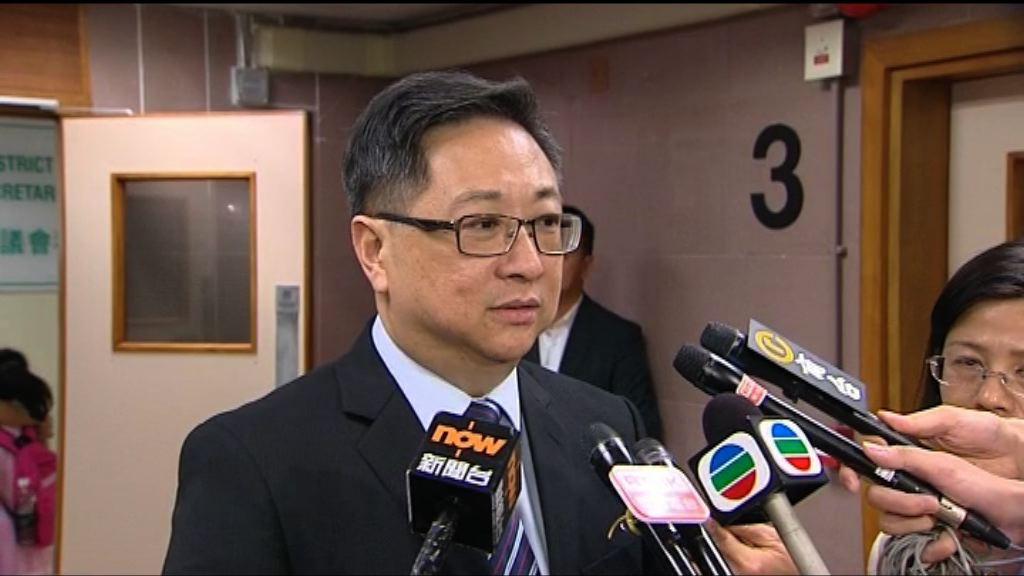 盧偉聰:會全力調查林子健涉被擄案