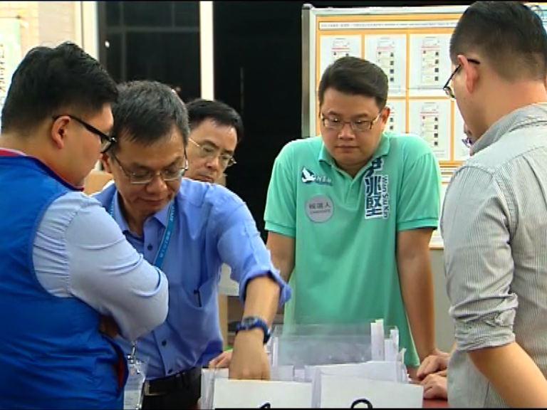 民主黨葵青多個重點選區失守
