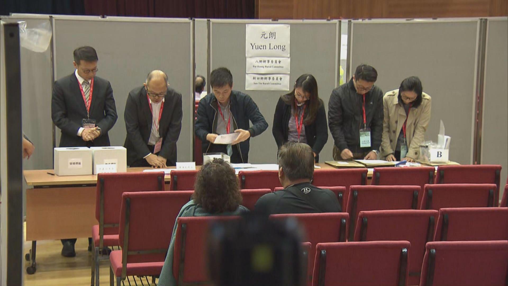 朱凱廸參選的元崗新村選區押後抽籤