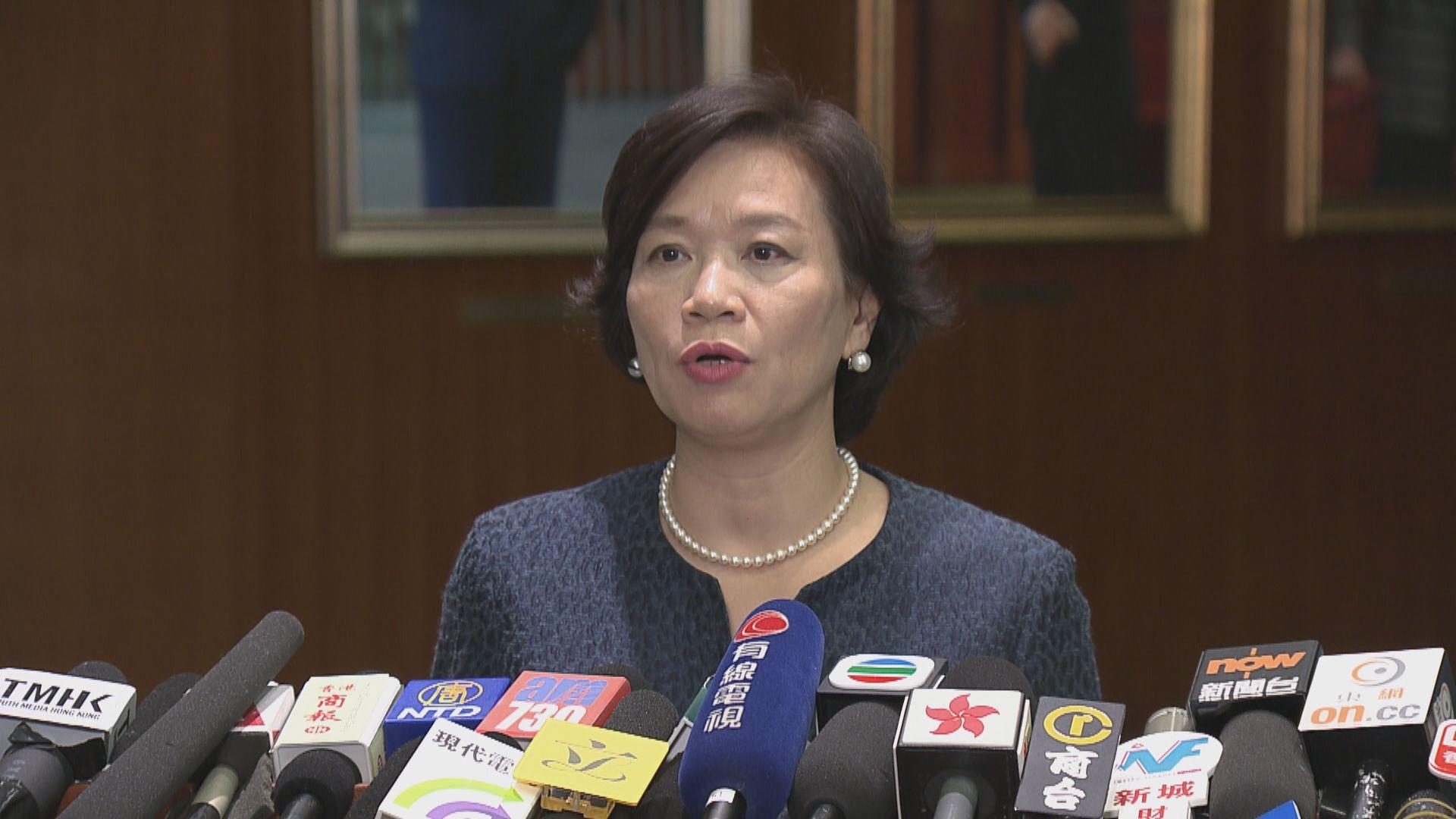 梁美芬:各級選舉中的公職人員需效忠基本法
