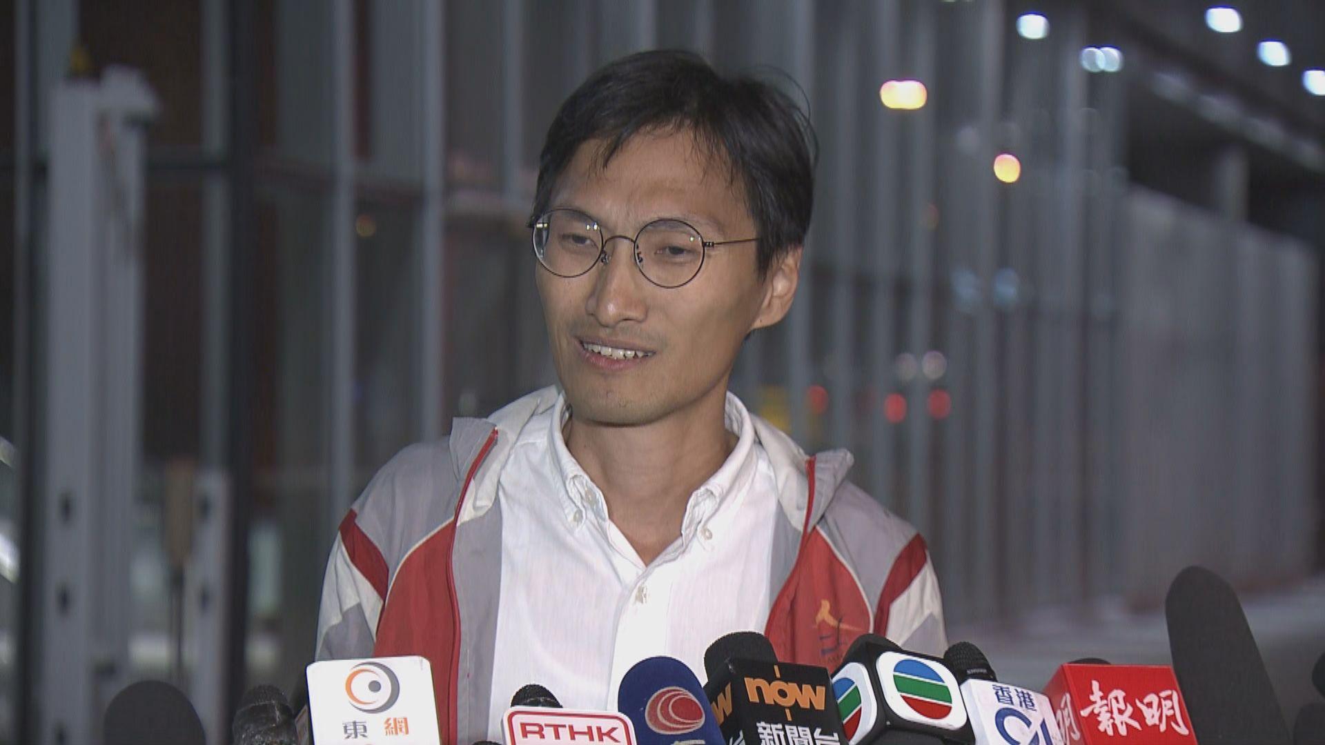 朱凱廸:難料選舉主任裁決會否影響立會議席