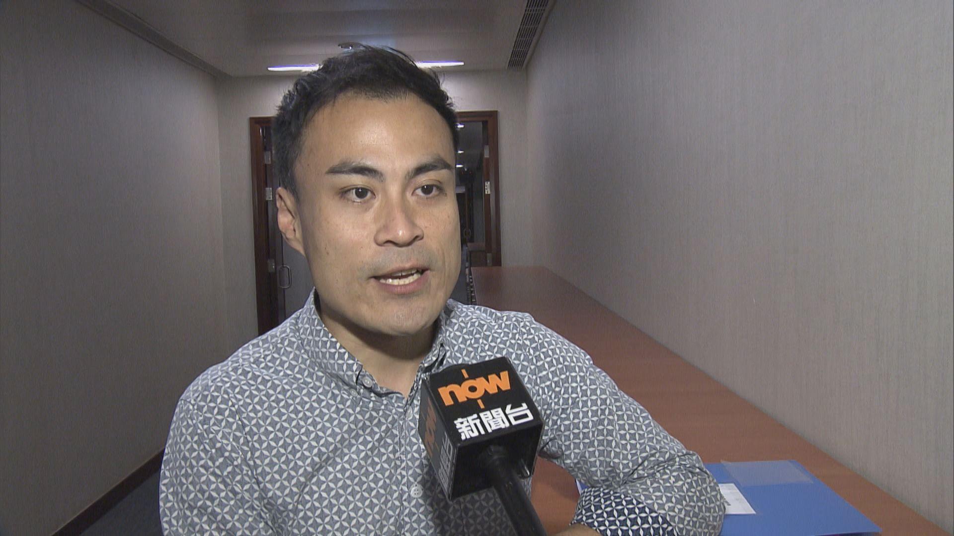 郭偉强質疑朱凱廸的立法會議員資格