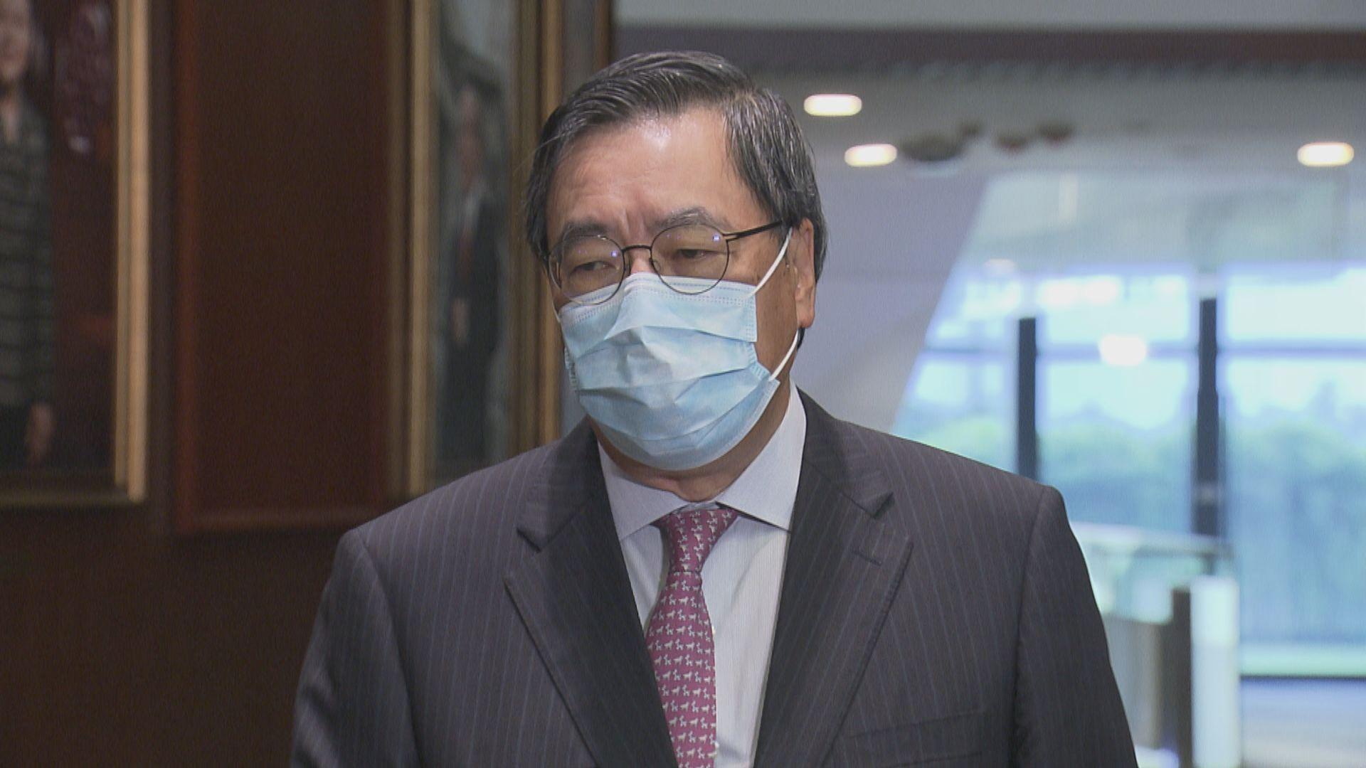 梁君彥:拉布非人大常委決定重點 籲議員緊守崗位