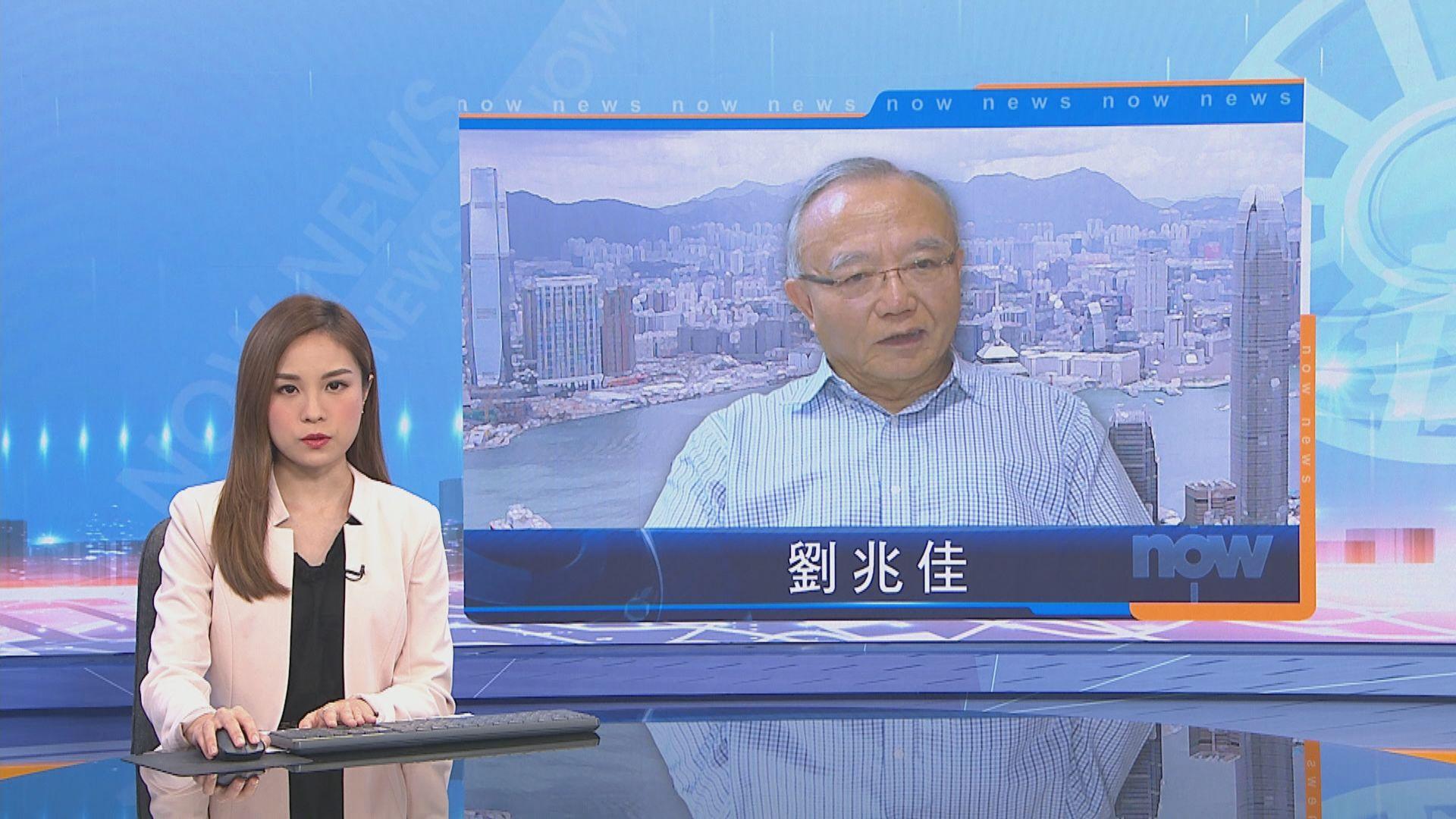 劉兆佳料港府不會常引用權力撤議員資格 蔡子強:民主派要準備長期在野