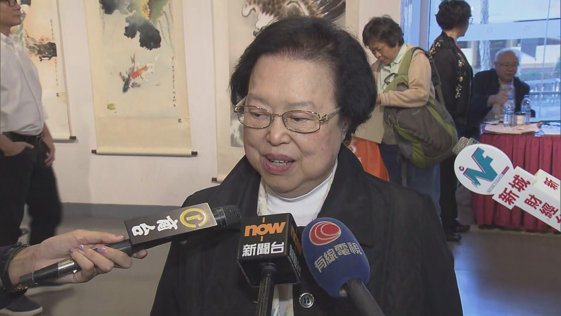 譚惠珠:選舉主任是按本港法例向朱凱廸查詢