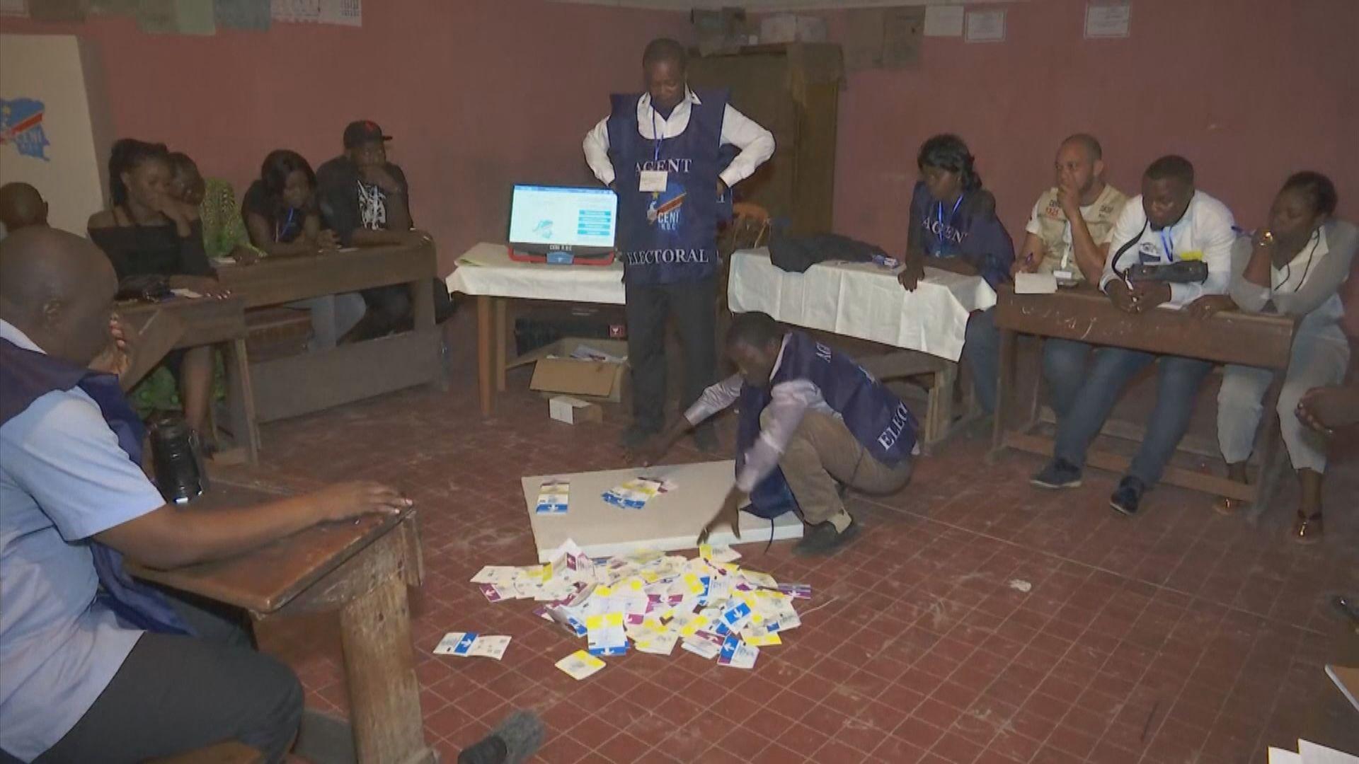 剛果民主共和國大選混亂釀三死