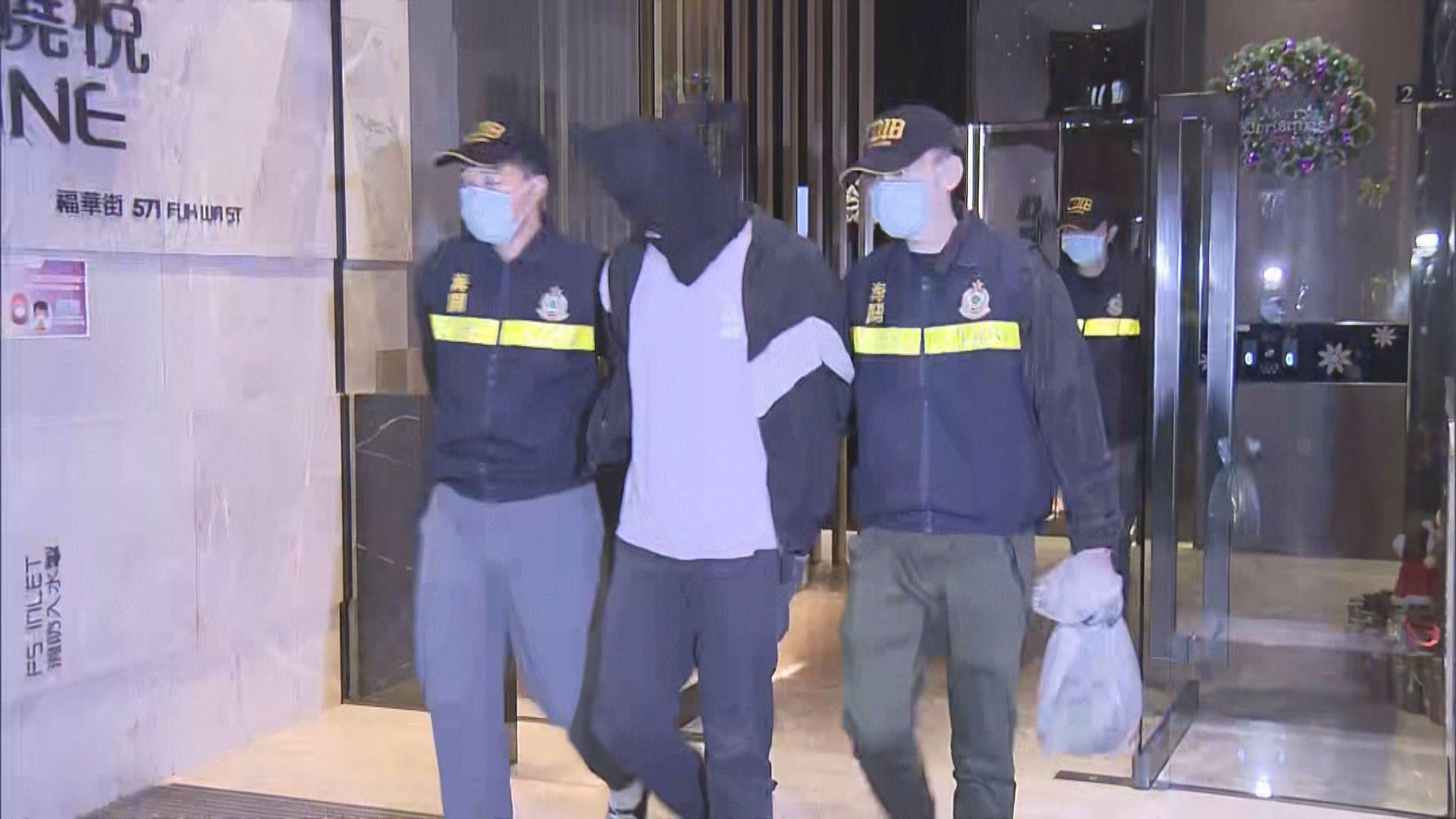 海關破製毒工場拘兩漢檢1.5公斤可卡因