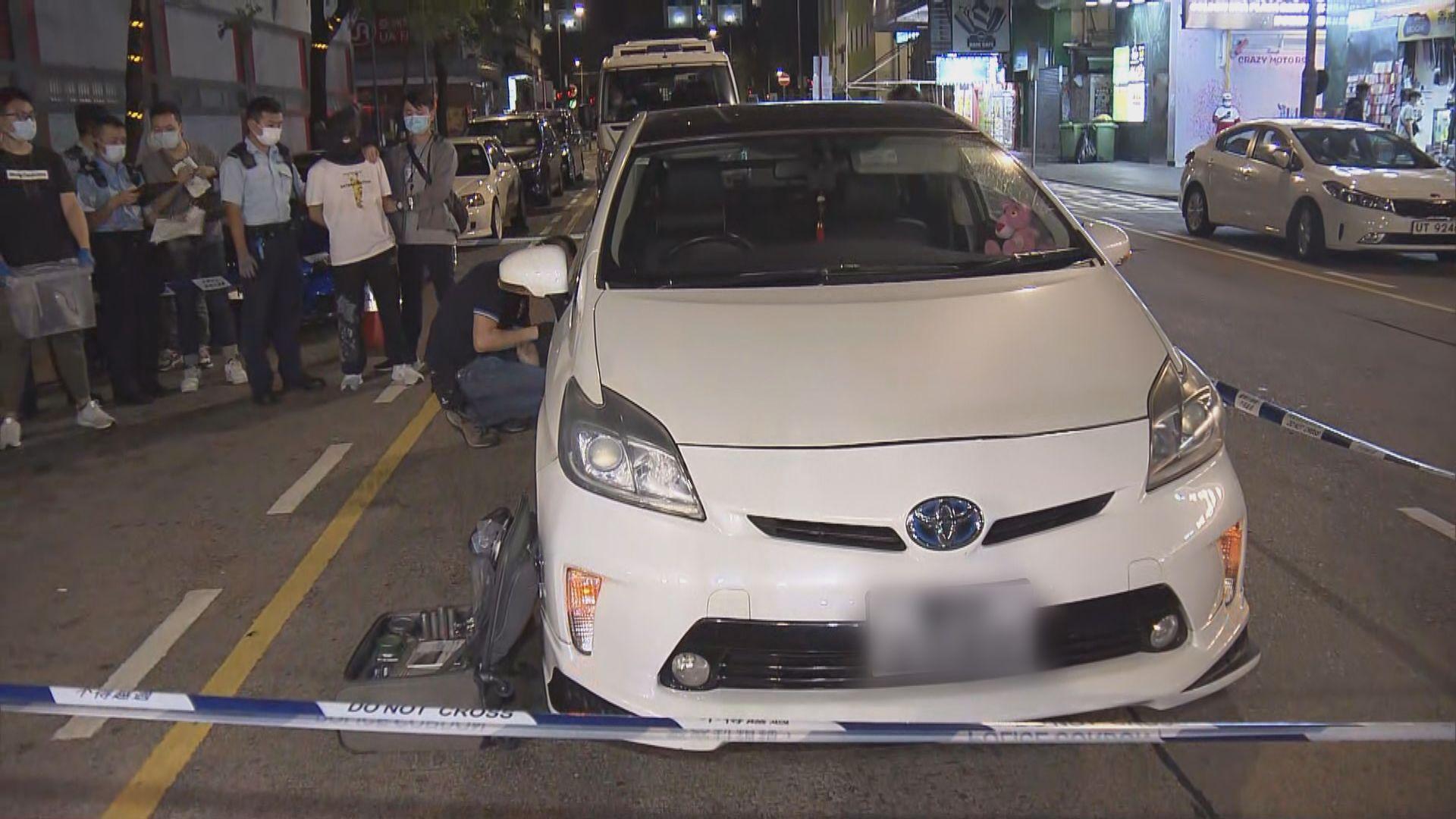 警方旺角查私家車搜出約值十萬元懷疑毒品 司機被捕