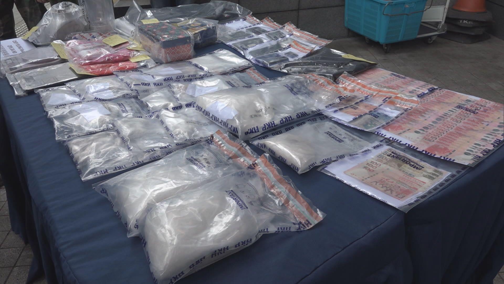警方重慶大廈拘三外籍漢涉販毒 檢逾三百萬元毒品
