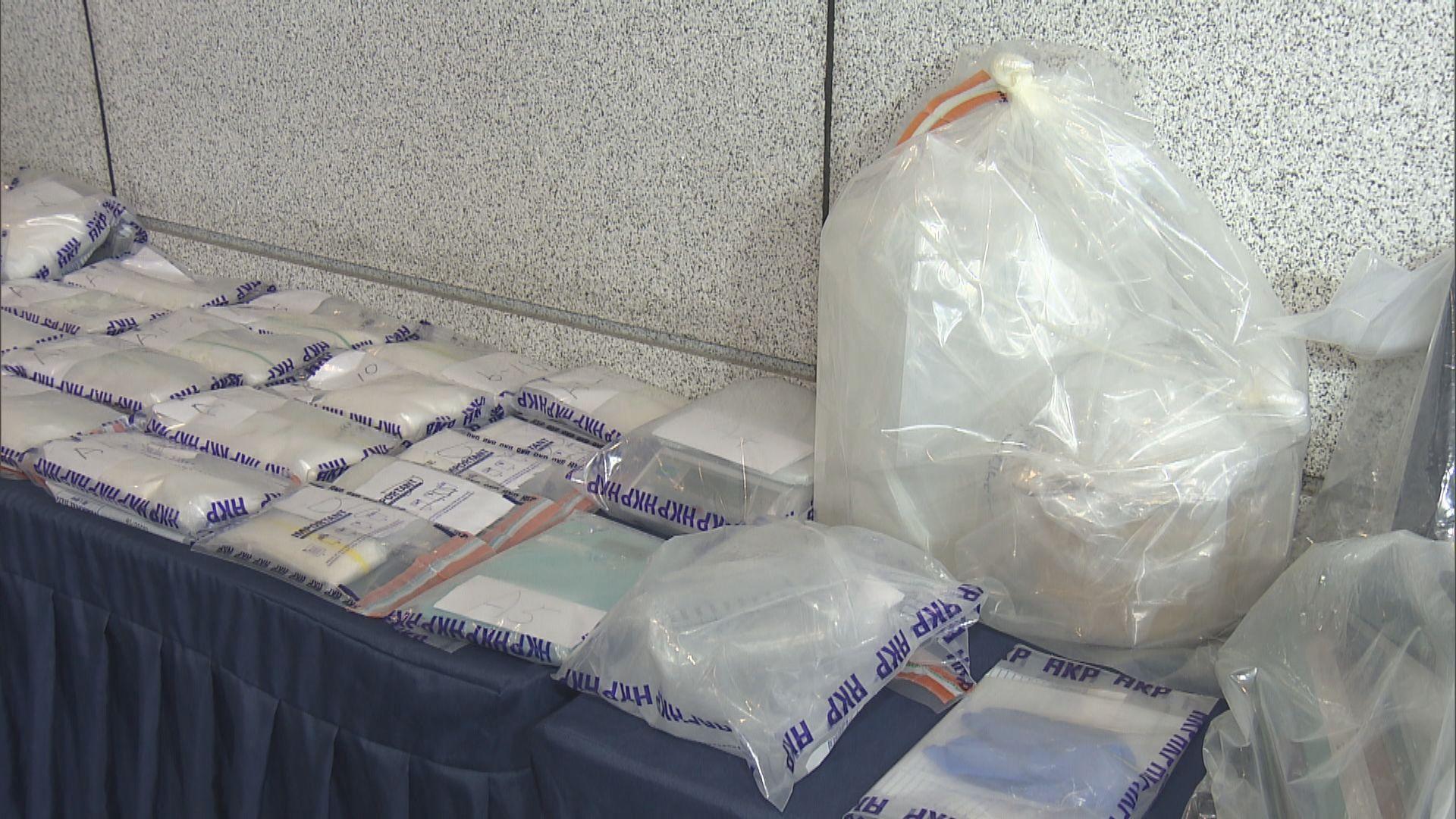 警方米埔檢一千五百萬元毒品拘兩人