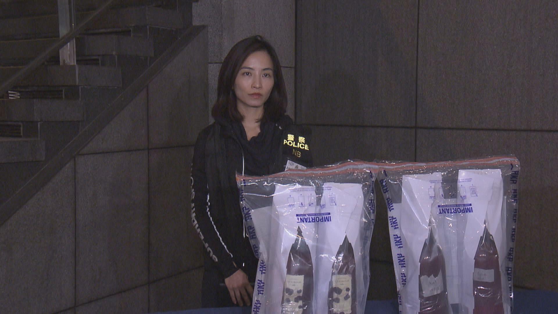 警方拘捕四名遊客涉販運二千萬元毒品