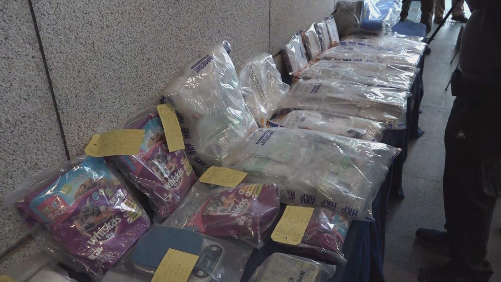 警方葵涌工廈搜獲2800萬元毒品 拘一人