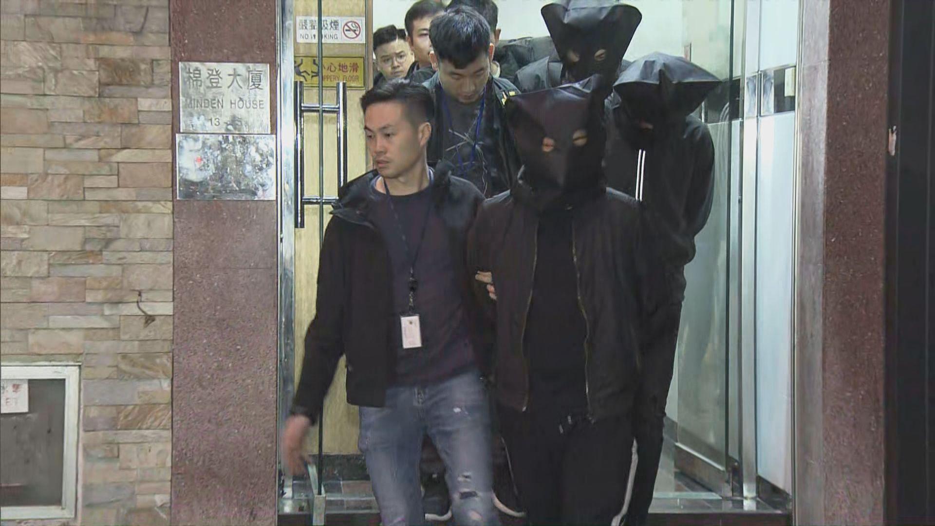 油尖反黑拘六男女涉販運或藏有毒品