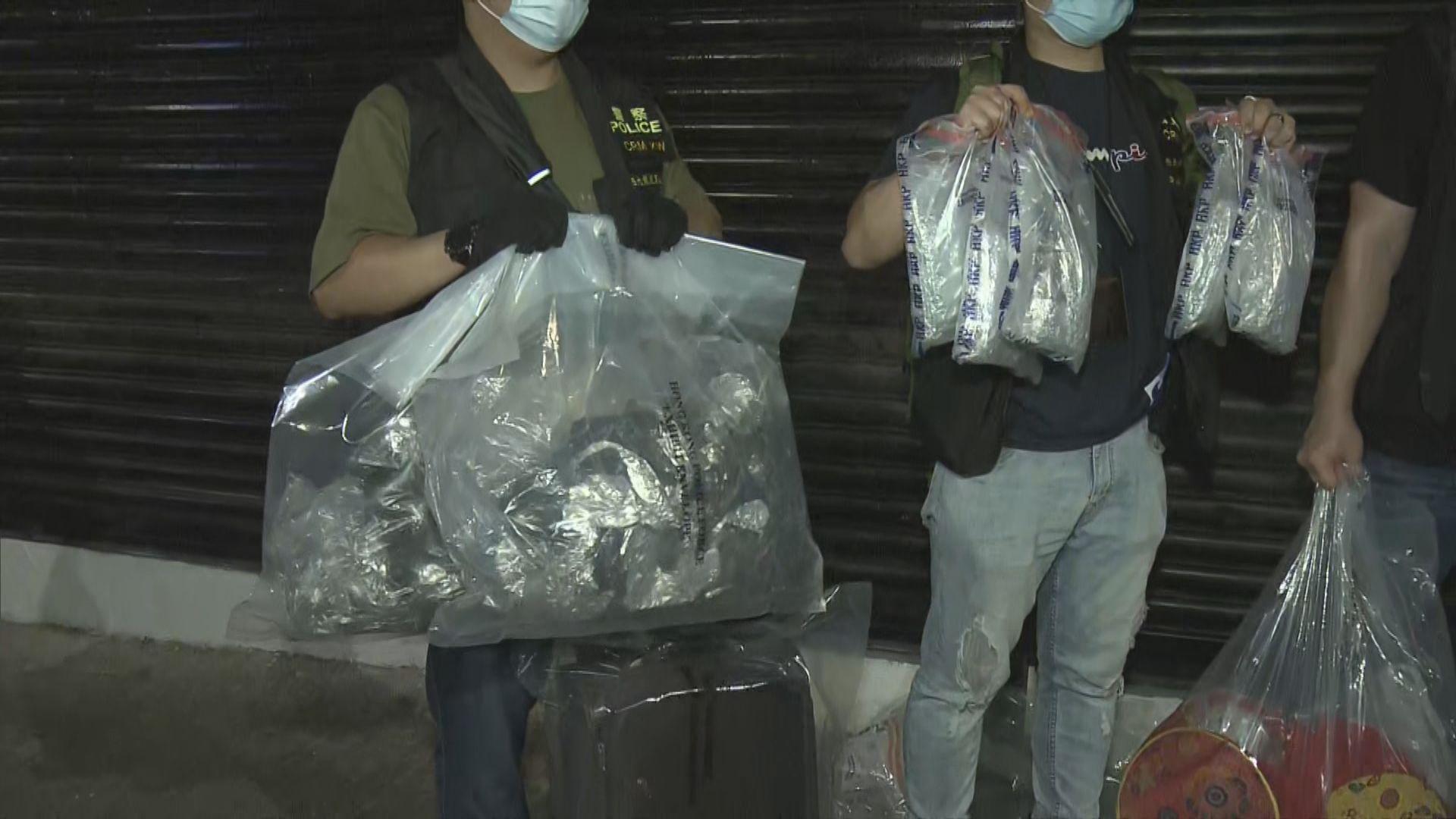 警油麻地破劏房毒窟拘三非華裔男女