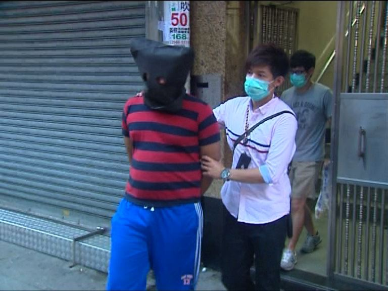 警方油麻地拘兩人檢毒品